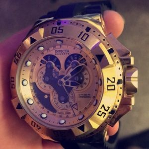 Invicta reserve excursion stainless steal watch